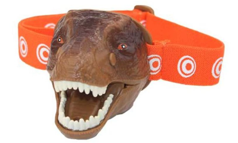 T rex head torch Brainstorm