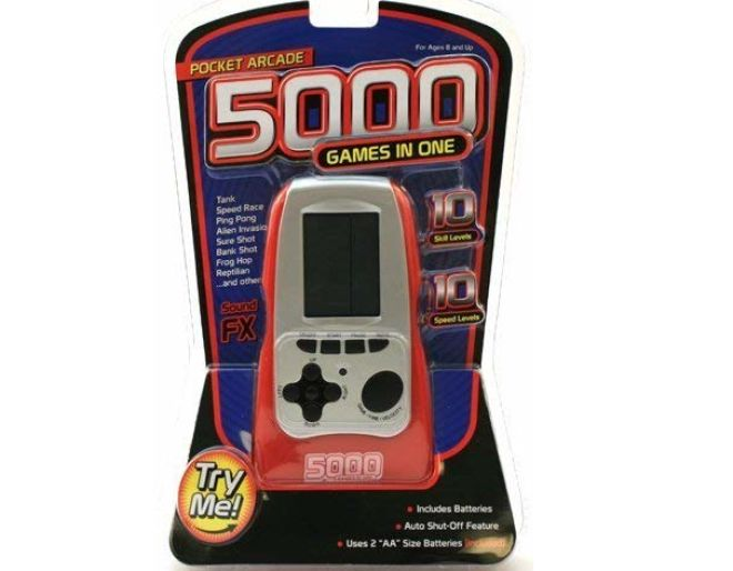 Pocket arcade 5000 in one