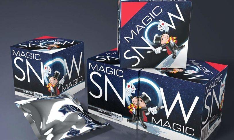 Multiple Magic Snow boxes