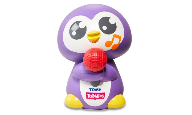 Tuneless penguin Tomy wobbling