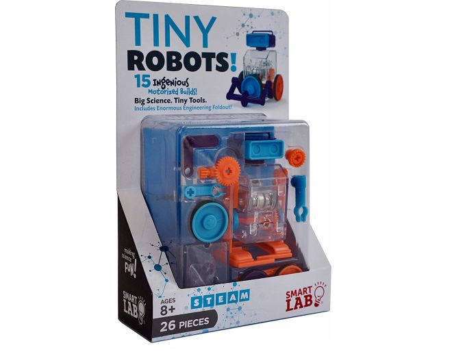 Tiny Robots Frontal View