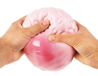 Squeezed Brain Ball