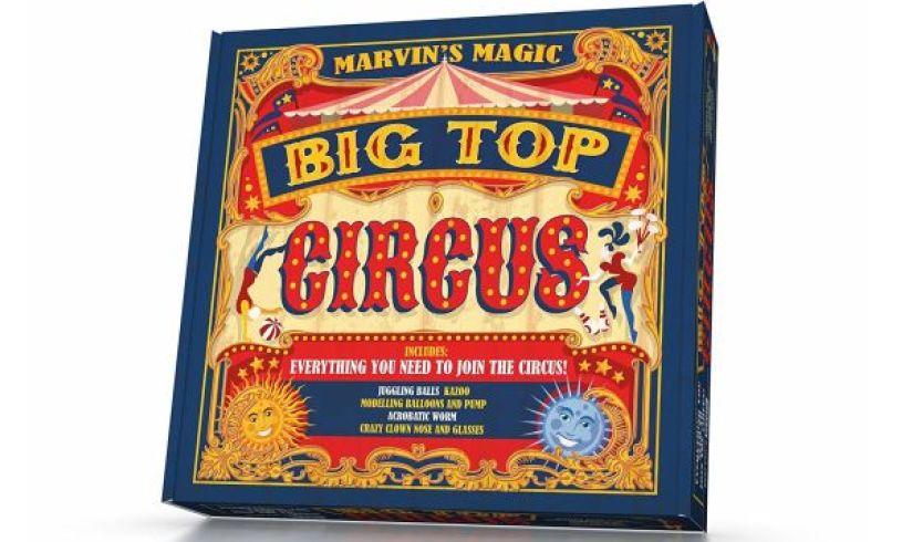 Marvins big top circus box