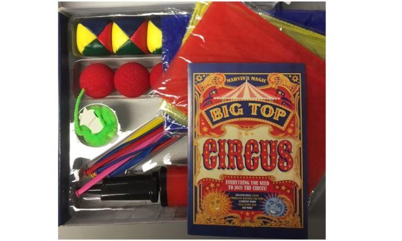 Marvins big top circus contents