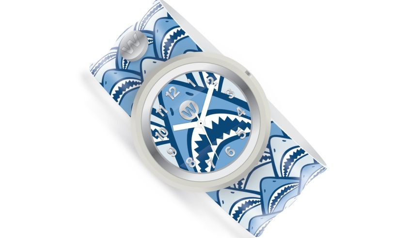 Sharky watchitude slap watch