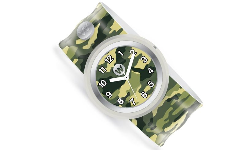Watchitude army camo watch