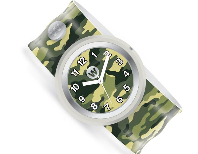 Watchitude army camo watch
