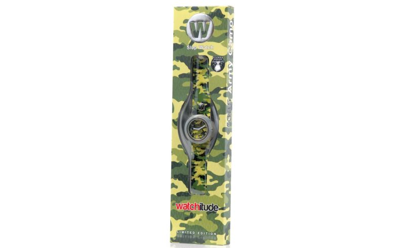 Watchitude camo watch box