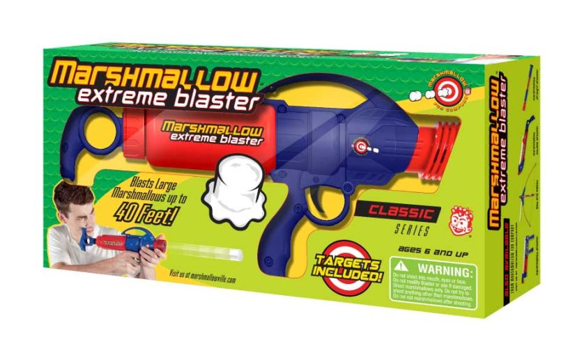 Extreme marshmallow blaster boxed