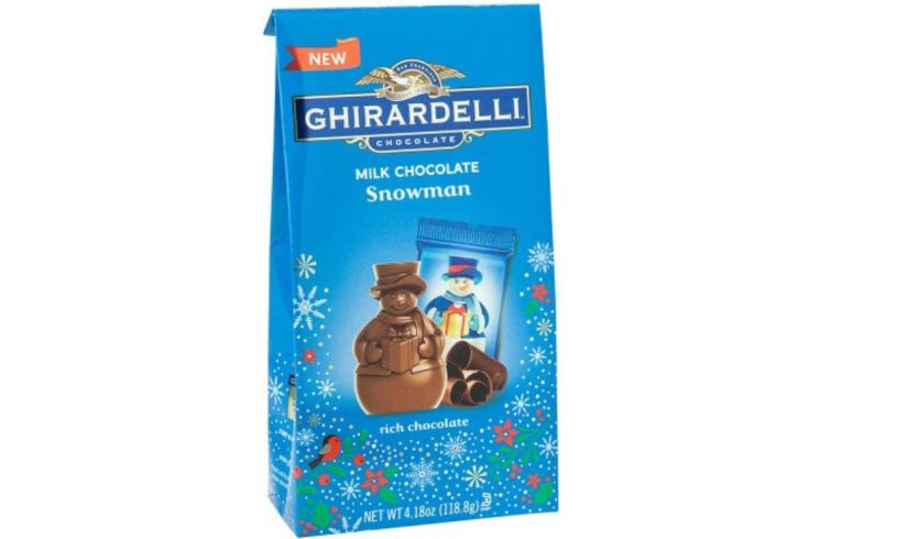 Ghirardelli chocolate snowmen