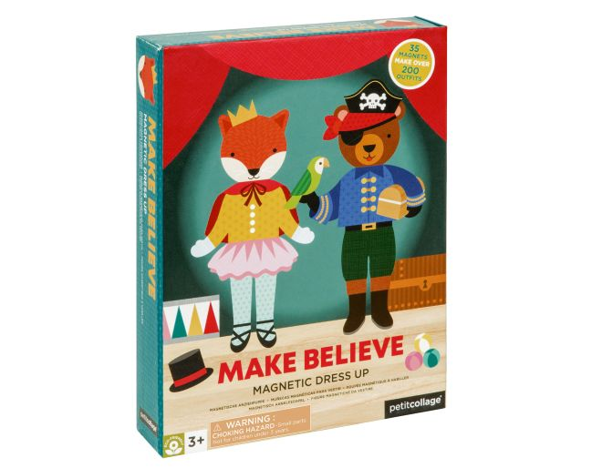 Petit Collage Make Believe Magnetic Dress Up