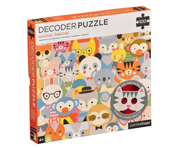 Animal Festival Decoder Puzzle
