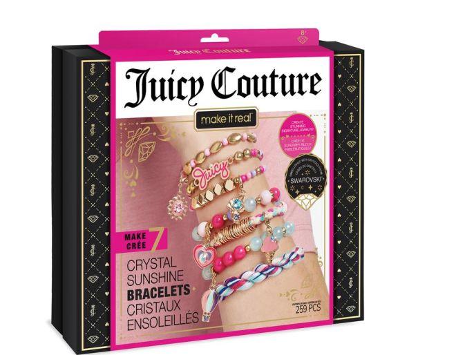 Juicy Couture Crystal sunshine bracelets with swarovski crystals