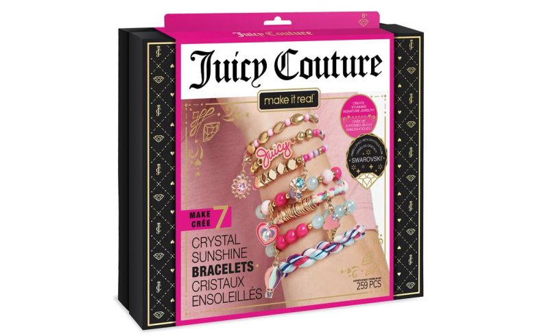 Juicy Couture Crystal sunshine bracelets with swarovski crystals