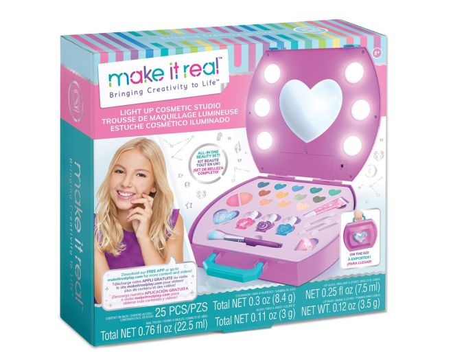 Make it Real Cosmetic light up studio