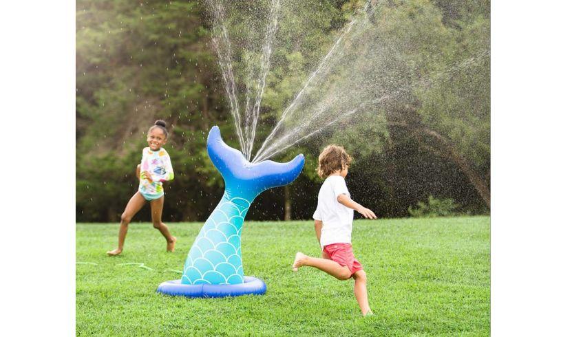 Hearthsong mermaid sprinkler lifestyle