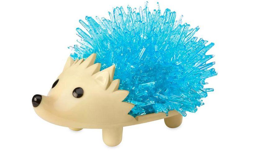 Hearthsong crystal hedgehog blue