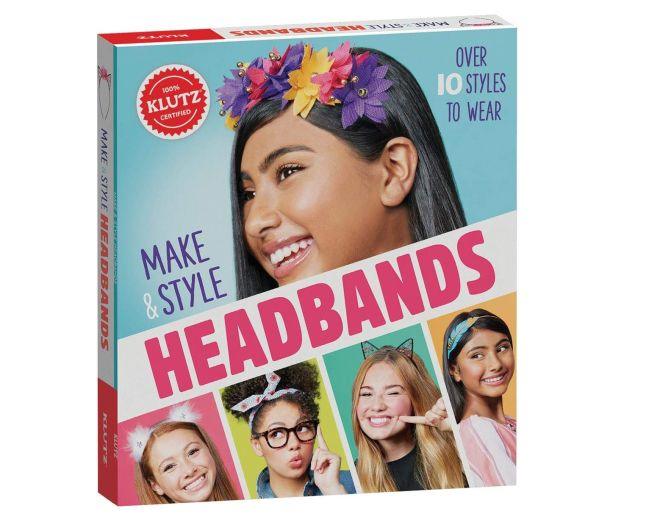 Klutz make and style headbands box