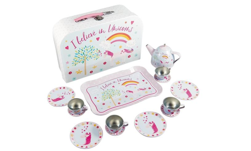 Fairy Unicorn Tin Tea Set