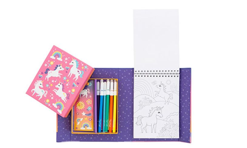 Bertoy Unicorn Colouring Set