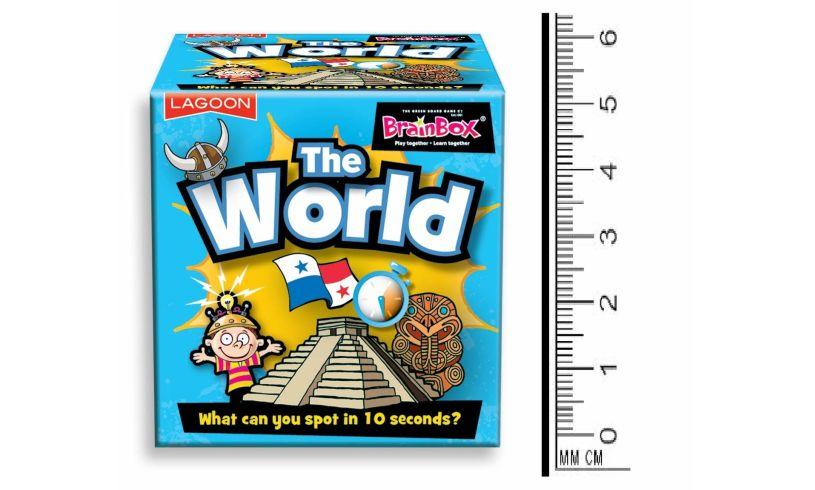 The World Tabletop Brainbox Lagoon