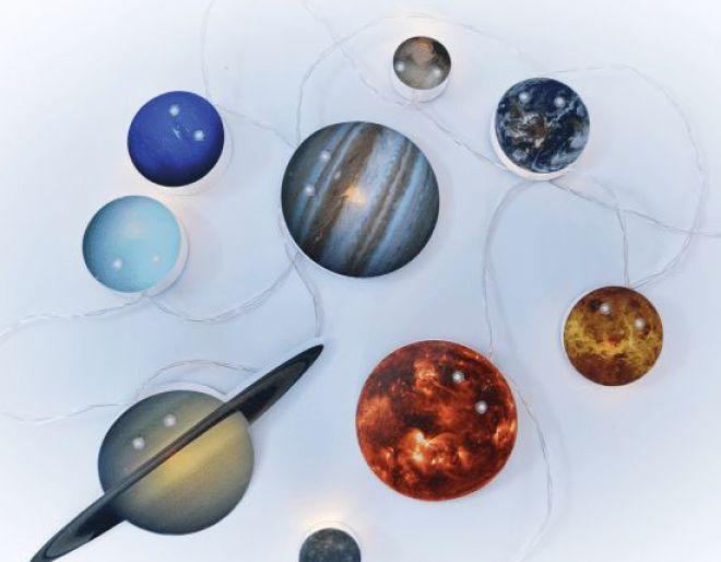Solar System String Lights cover