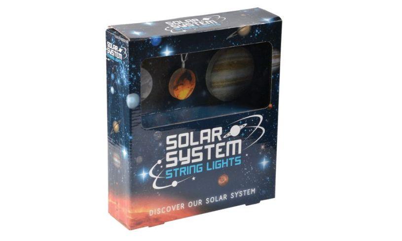 Solar System String Lights box