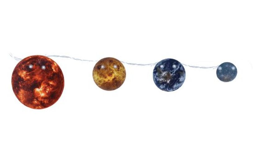 Solar System String Lights chain