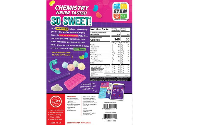 Candy Science back