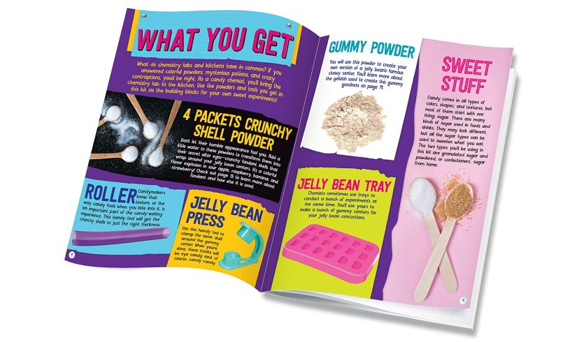 Candy Science booklet