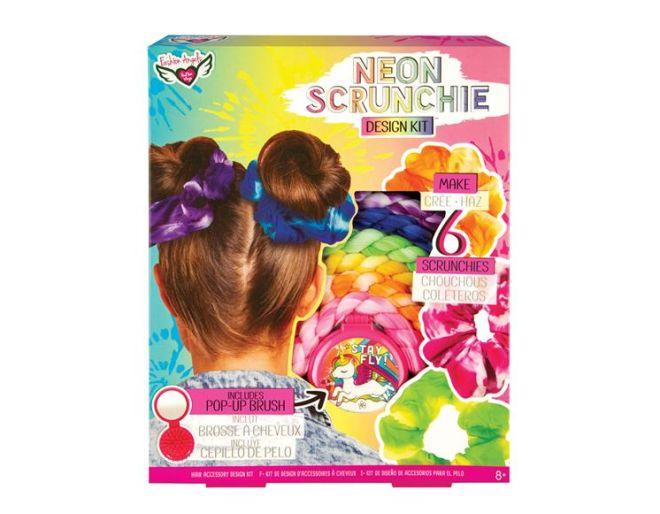 Neon Scrunchie box