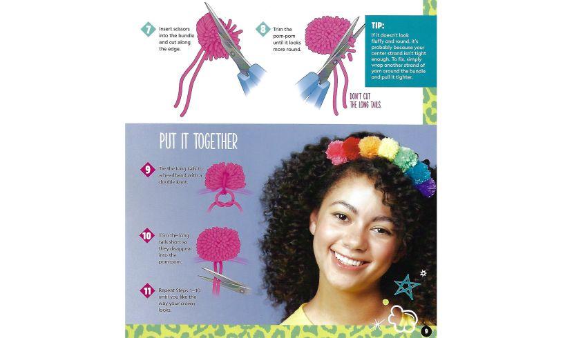 Make & Style Headbands Rainbow
