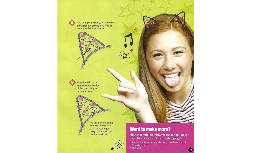 Make & Style Headbands Cat