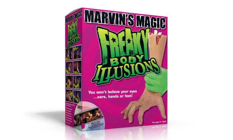 Freaky Body Illusions box