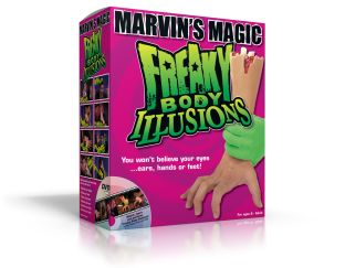 Freaky Body Illusions box