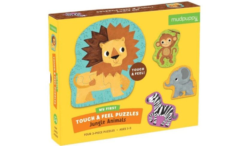 Touch & Feel Puzzle box