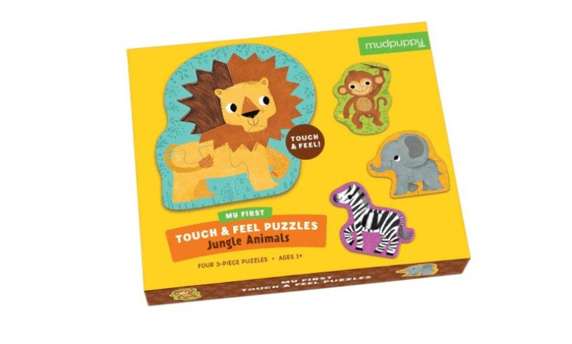 Touch & Feel Puzzle side box