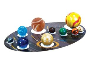 Solar System Marbles contents