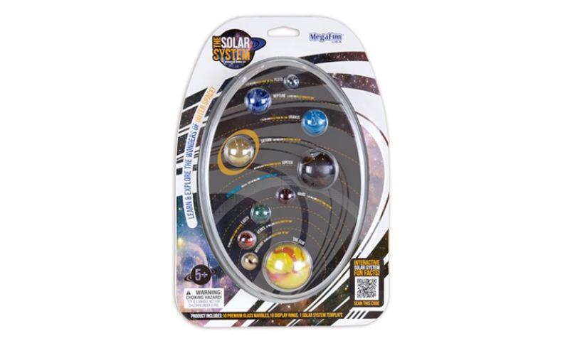 Solar System Marbles box