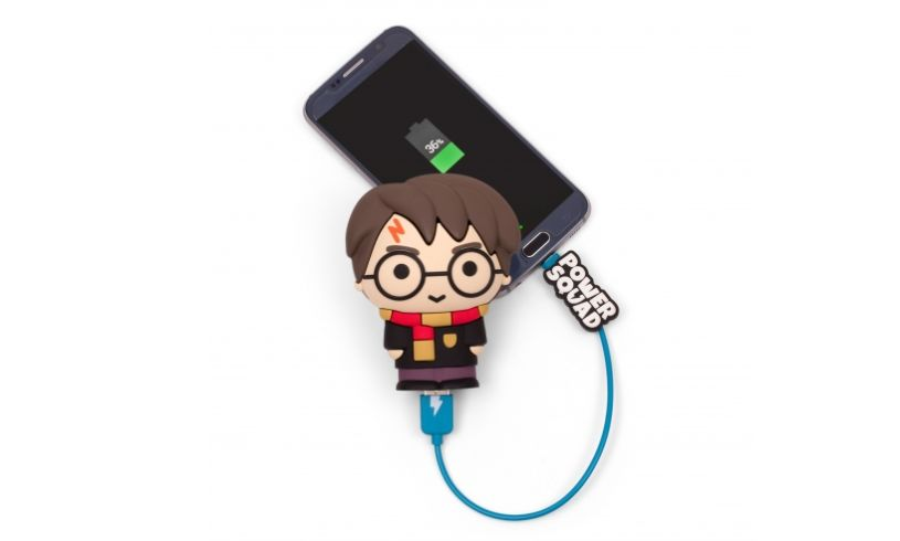 HP powerbank in use