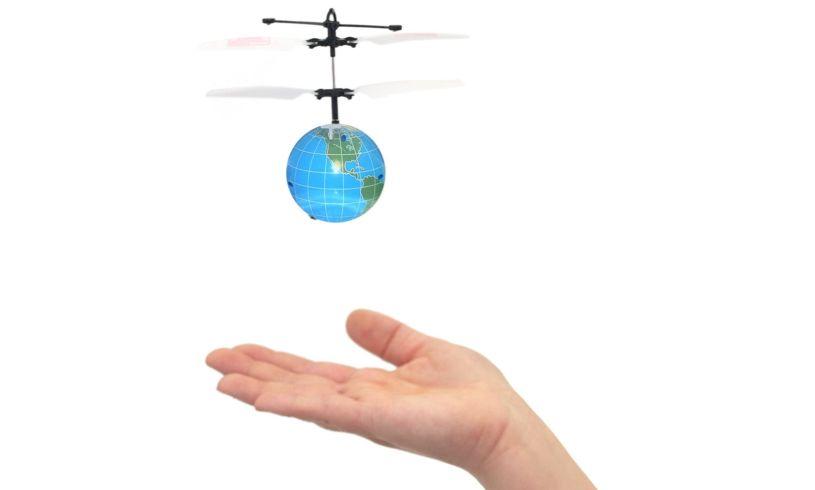 Mini Flyer Smiley Flying Saucer