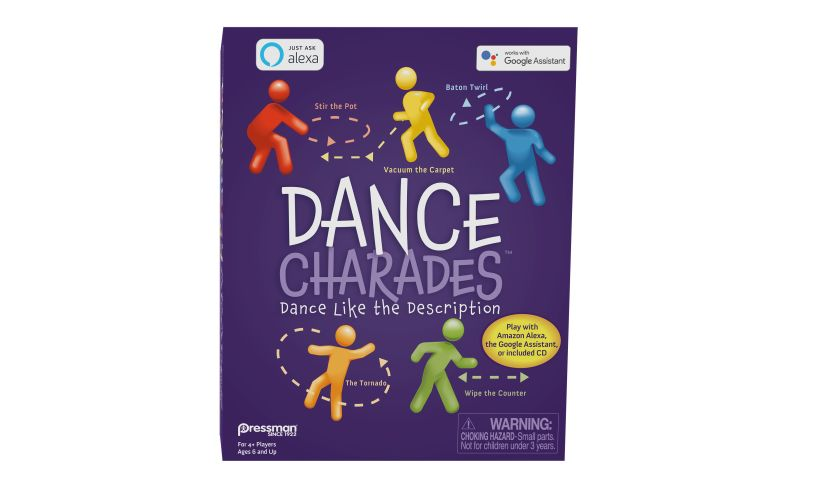 Dance Charades box front