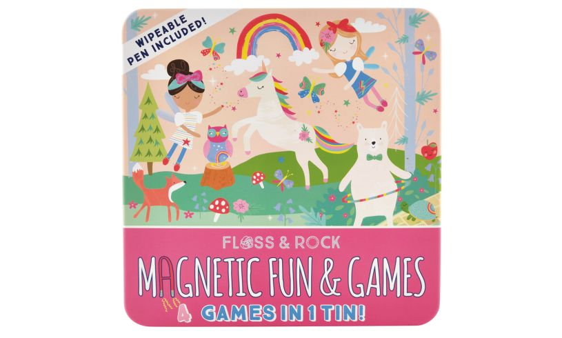 Magnetic Fun & Games 4 Games in 1 Tin