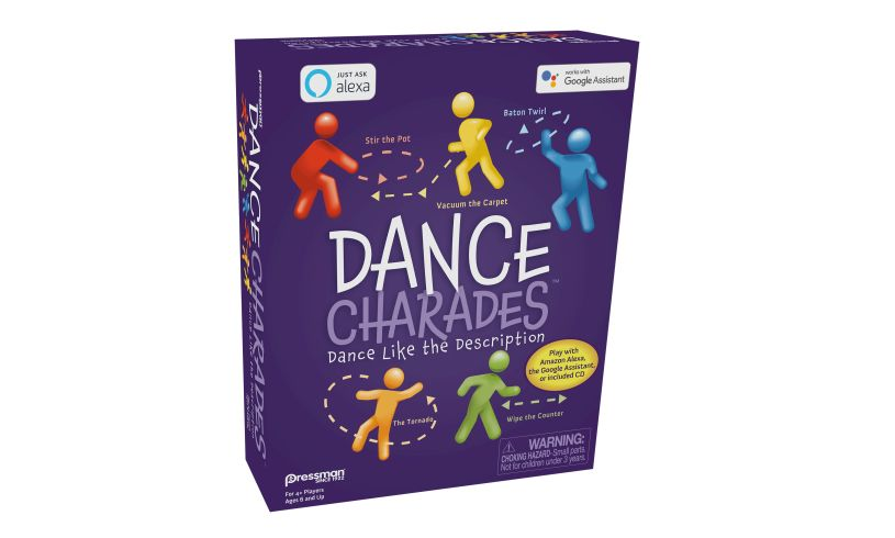Dance Charades box side