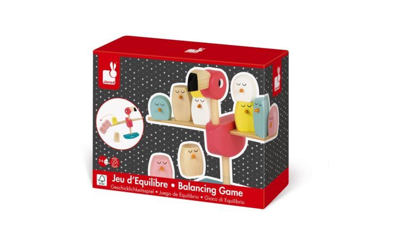 Flamingo Balancing Game Box