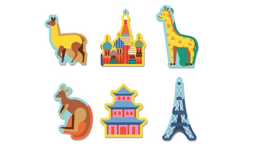 World Puzzle Pieces
