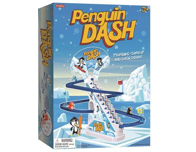 Playful Penguin Race