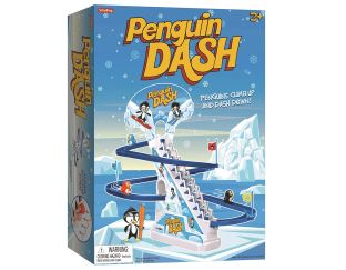 Playful Penguin Race