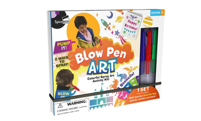 Blow Pen Art box