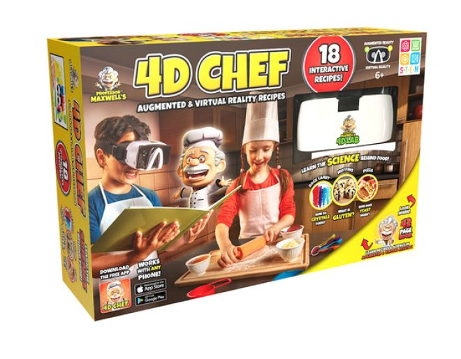 4D Chef box